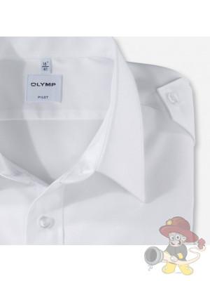 Olymp Feuerwehrhemd mit Schulterklappen Langarm